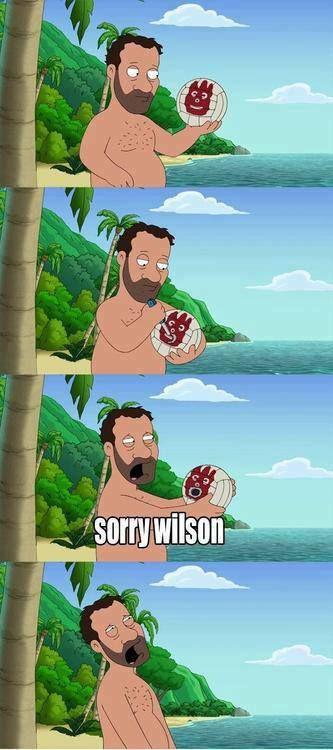 Sorry Wilson...