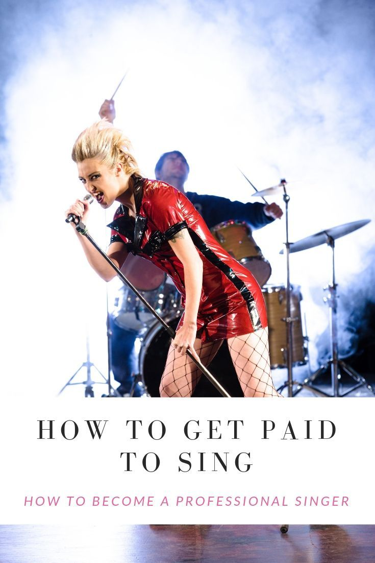 How to Become a Professional Singer: Get paid to sing  Want to get paid to sing? I've been a full time singer since 2007. I'll teach you the secrets and show you how to become a professional singer. #howtosing