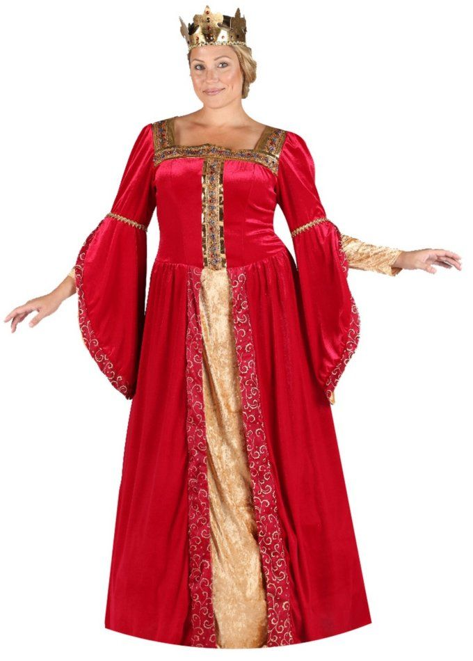 Plus Size Deluxe Red Renaissance Queen Costume - Candy Apple Costumes - Plus Size Deluxe Costumes  sc 1 st  Pinterest & Plus Size Deluxe Red Renaissance Queen Costume - Candy Apple ...
