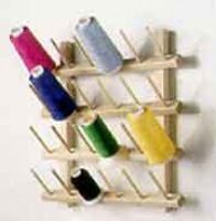 Cone Rack for serger cones - it's on my wishlist.