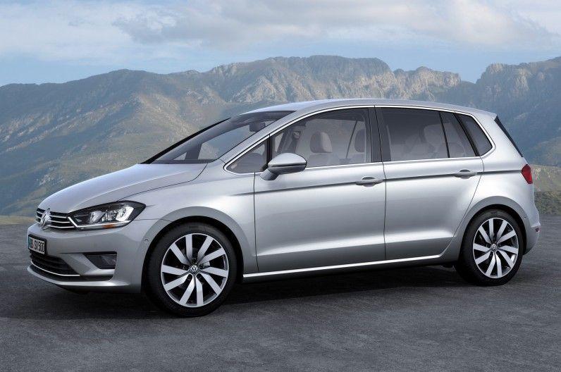 Volkswagen Golf Sportsvan Concept Like A Golf Minivan