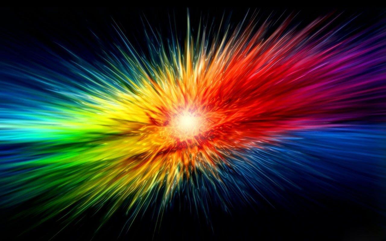 Desktopwallpaper S Com Rainbow Wallpaper Abstract Rainbow Abstract