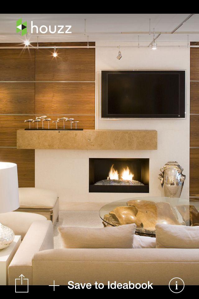 Living Room Tv Setups: Like This Fireplace/ TV Setup