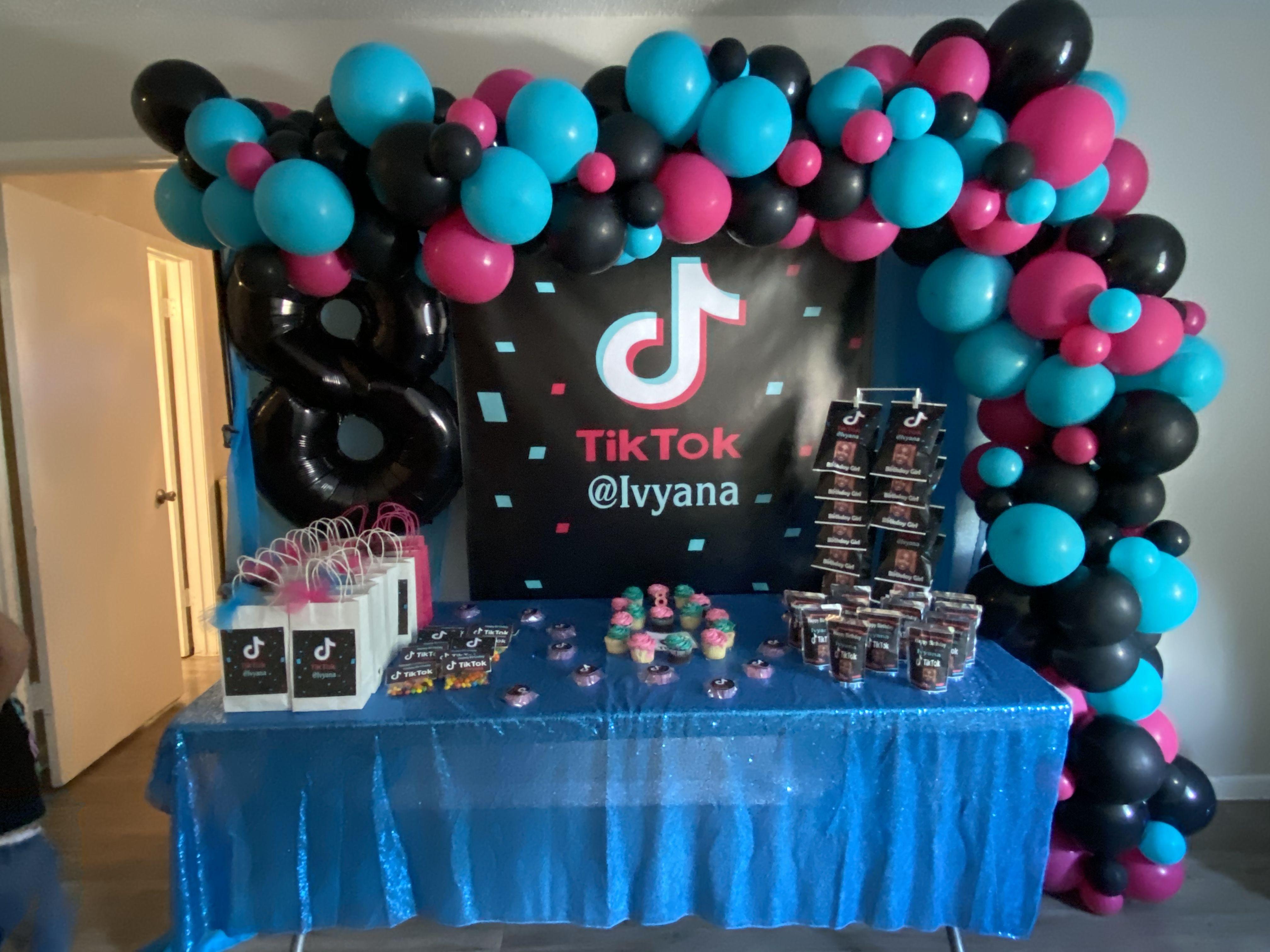 Tiktok Kids Themed Birthday Parties Candy Land Birthday Party Birthday Party Design