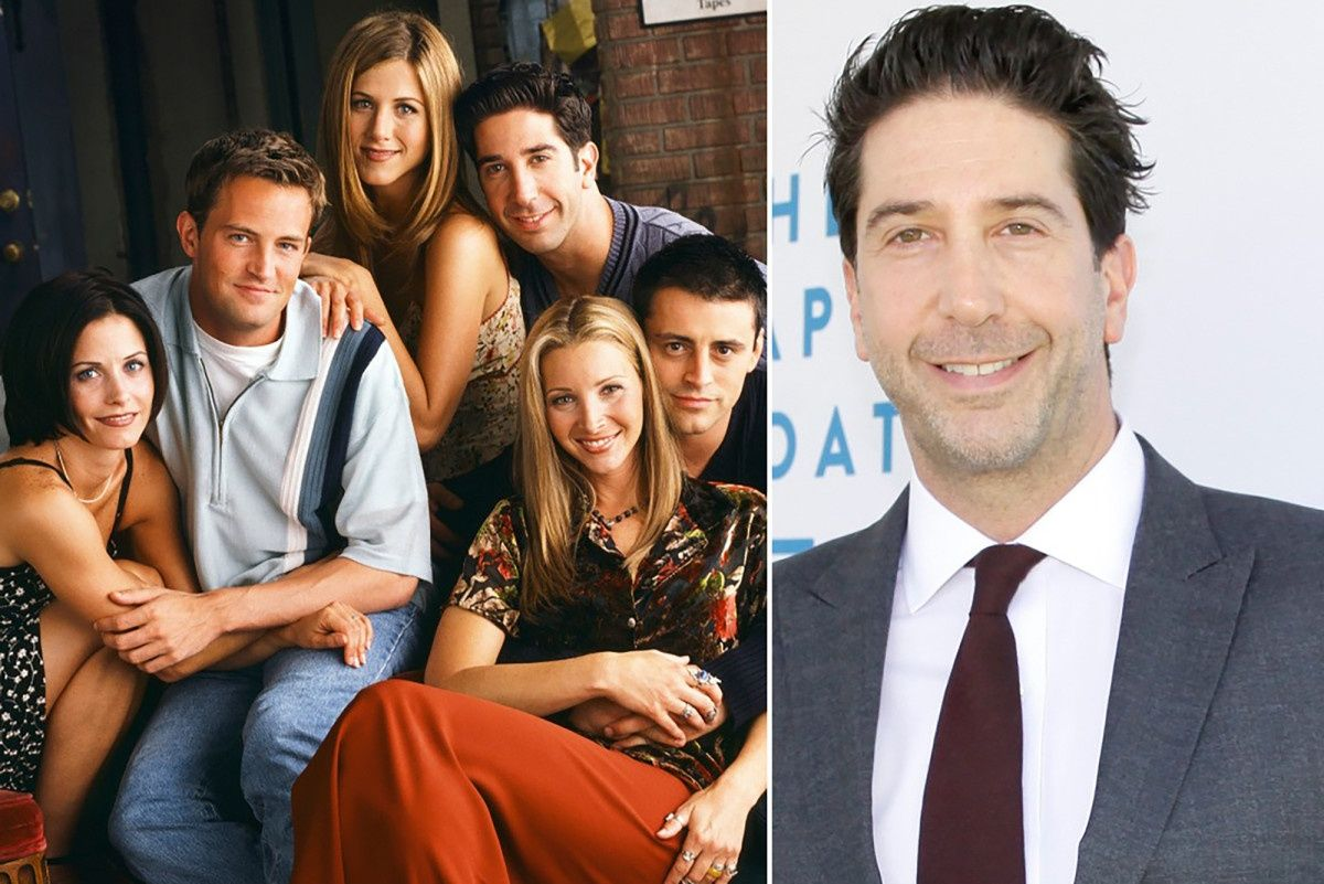 David Schwimmer Hints Friends Cast Will Revive Characters In 2021 Friends Cast David Schwimmer Ross And Rachel