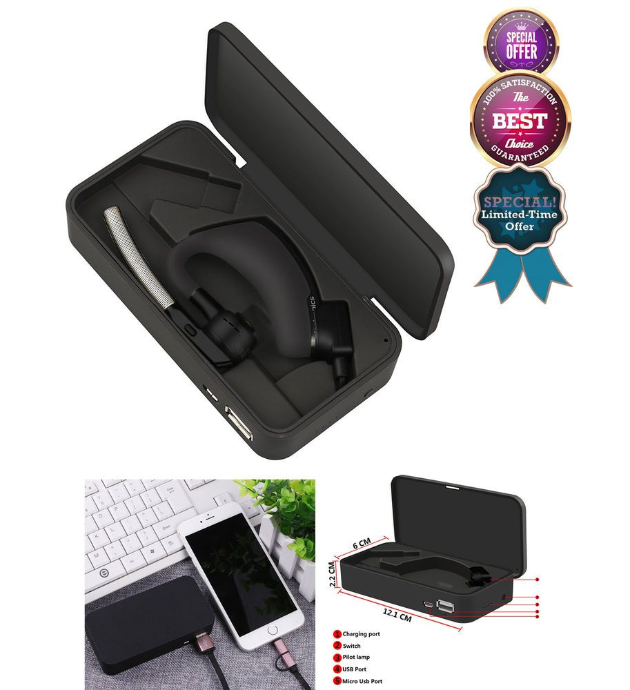 Voyager Legend Charge Case Black for Bluetooth Headset and