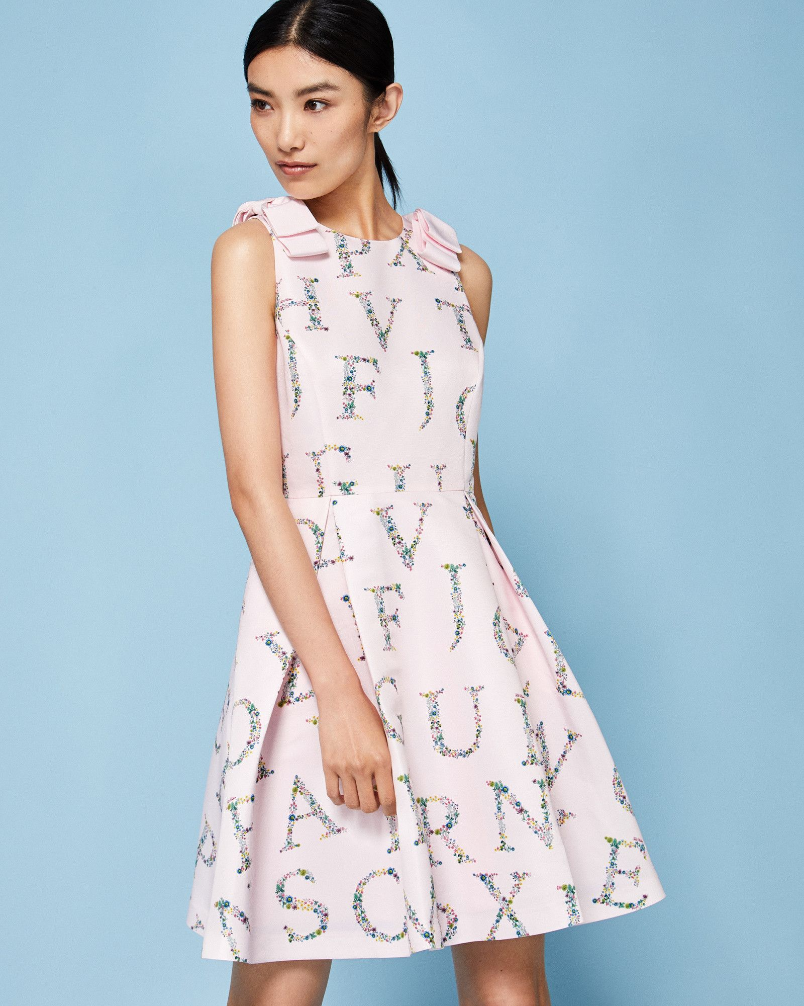 6151440f9 Unity Floral skater dress - Pink | Dresses | Ted Baker | My Style ...