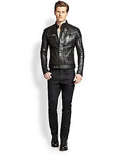 Belstaff - Weybridge Quilted Leather Moto Jacket