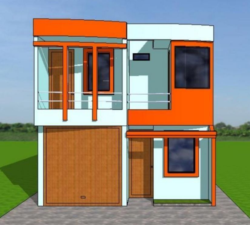 Planos de casas de 6 metros 18 metros casas angostas for Fachadas de casas modernas de 6 metros