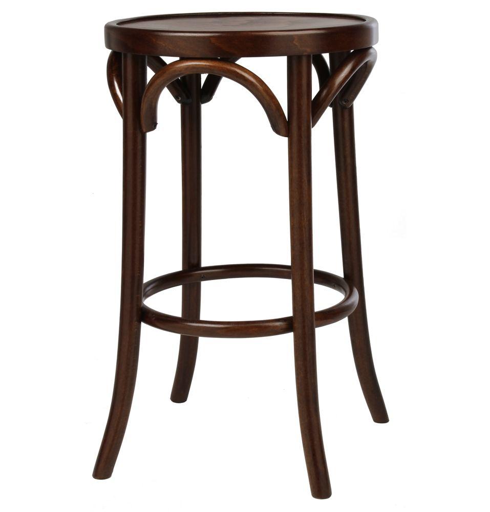 Replica thonet round bentwood stool matt blatt 195 a for Thonet beistelltisch replica
