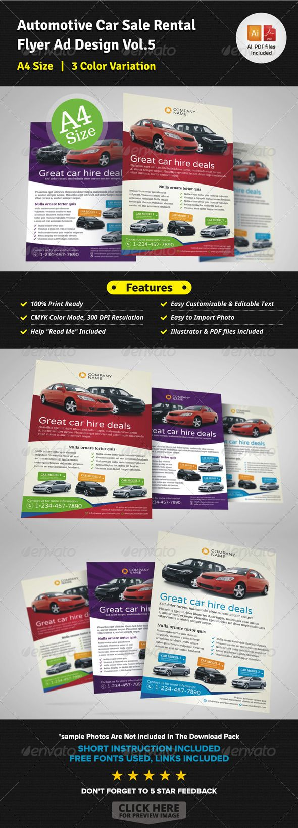 Pin by Bashooka Web & Graphic Design on Business Flyer