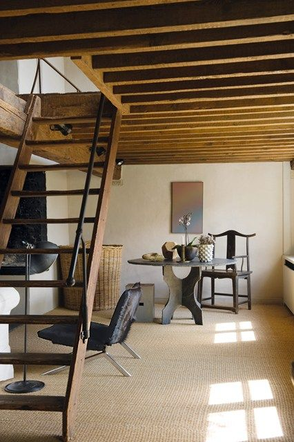 Attic stairs design ideas for loft conversions rooms  conversion houseandgarden also staircase house pinterest altillo rh co