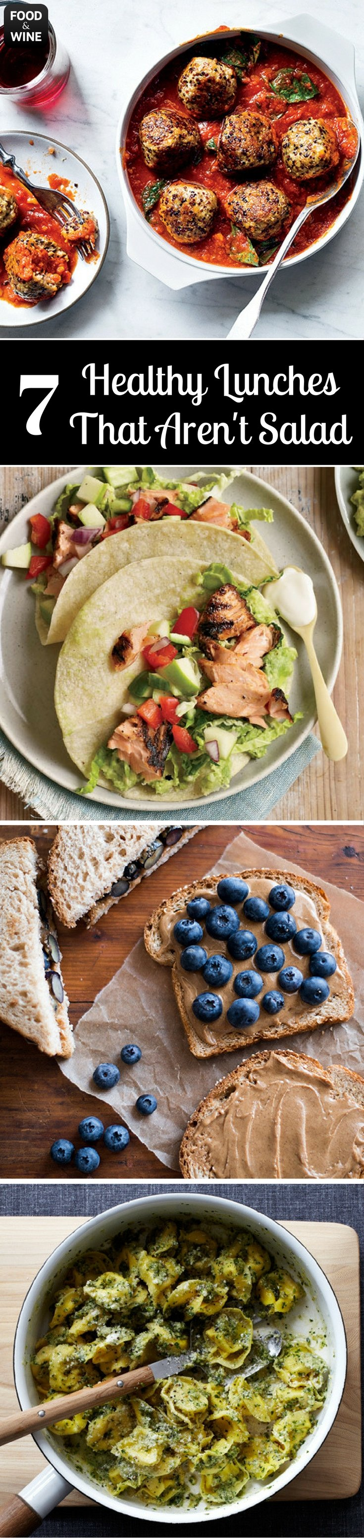 7 healthy lunches that arent salad pinterest cold food lunches forget salads these easy lunch recipes are simple to pack and delicious to eat hot or cold food wine forumfinder Images