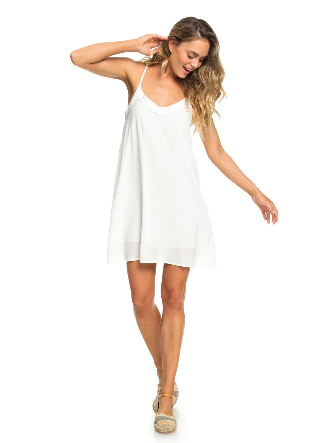 Off We Go Strappy Dress 191274999791 In 2021 Strappy Dresses Casual White Dress Dresses [ 1500 x 1117 Pixel ]