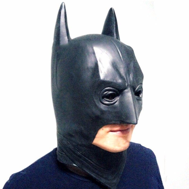 Batman Masks Halloween Menu0027s Rubber Adult Full