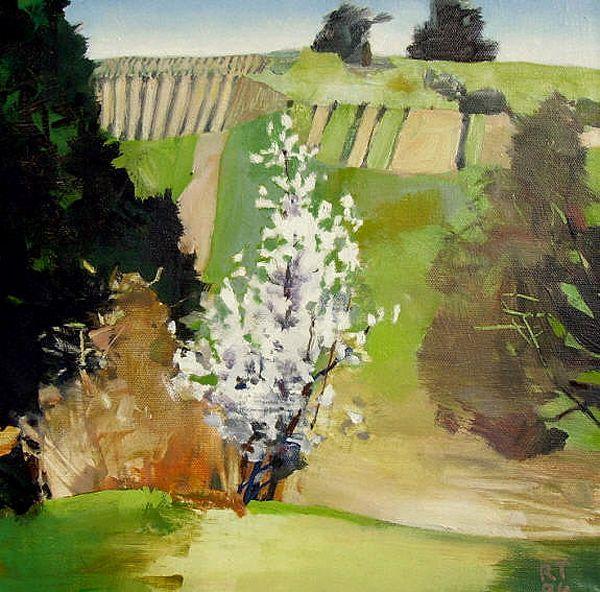 Painter's Process - Randall David Tipton: Eola Hills Studies