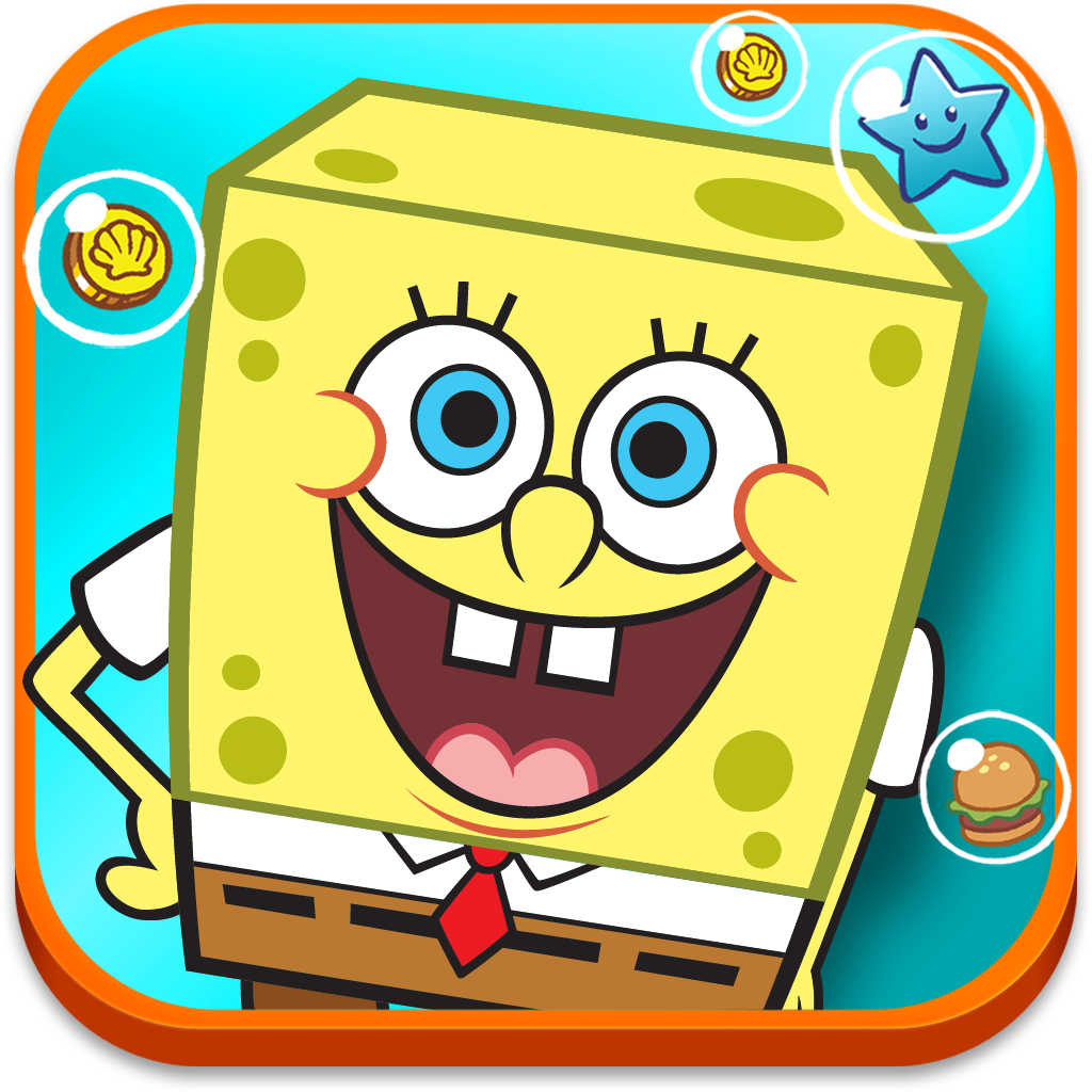 #AppyReview by Sharon Turriff @appymall SpongeBob Moves In. This is my sort of game. My kids wouldn't even get a look at this. You get to build your own Bikini Bottom with spongebob and his friends. Managing the Krabby Patty and making sure the residents of Bikini Bottom are fed. You have to grow and make the ingredients for the Krabby Burgers, collect rent, expand the town, build different building to help you run bikini bottom. I love