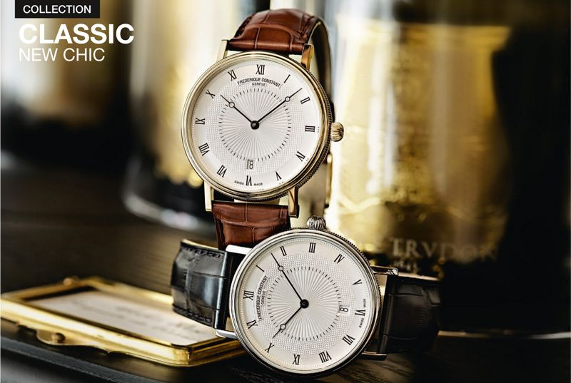 Frederique Constant have been shortlisted for the Luxury Watch Brand of The Year.