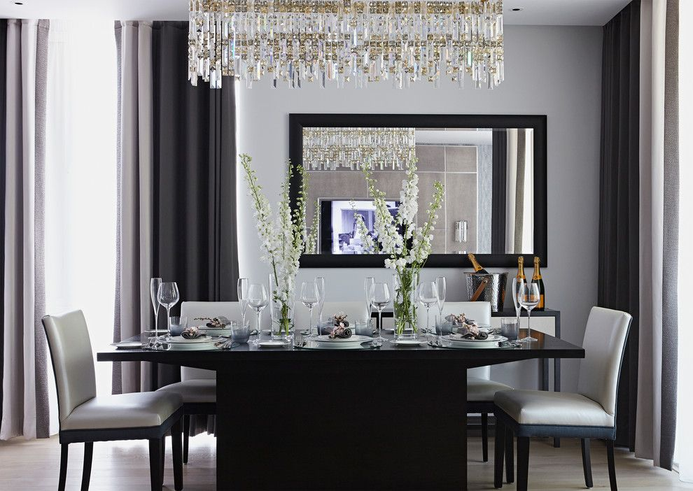 Transitional Dining Rooms  Google Search  Dining Room Ideas Captivating Mirror In The Dining Room Design Decoration