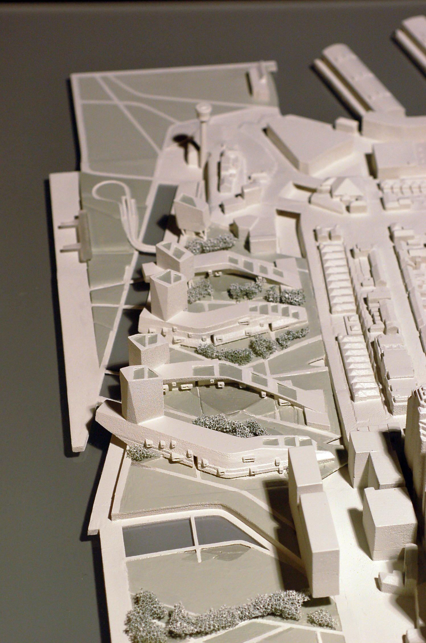 Morphosis Model Bjorn Buckley: Architecture Model Making