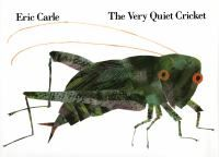 A very quiet cricket who wants to rub his wings together and make a sound as do so many other animals finally achieves his wish. The cricket's sound i