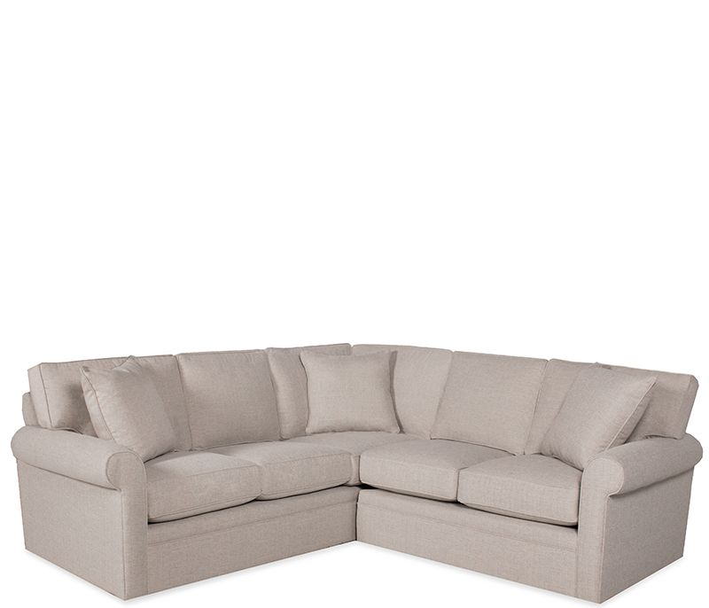 Boston Interiors Stuart Sectional. Nugget Crypton fabric with ...