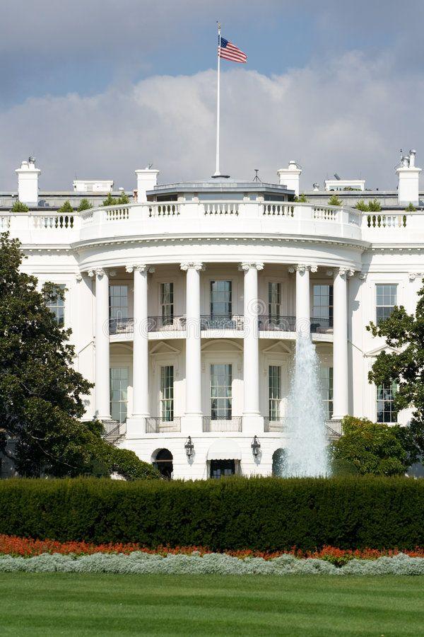 White House, Washington, DC. Exterior of southern facade of White House building , #AFF, #DC, #Exterior, #Washington, #White, #House #ad