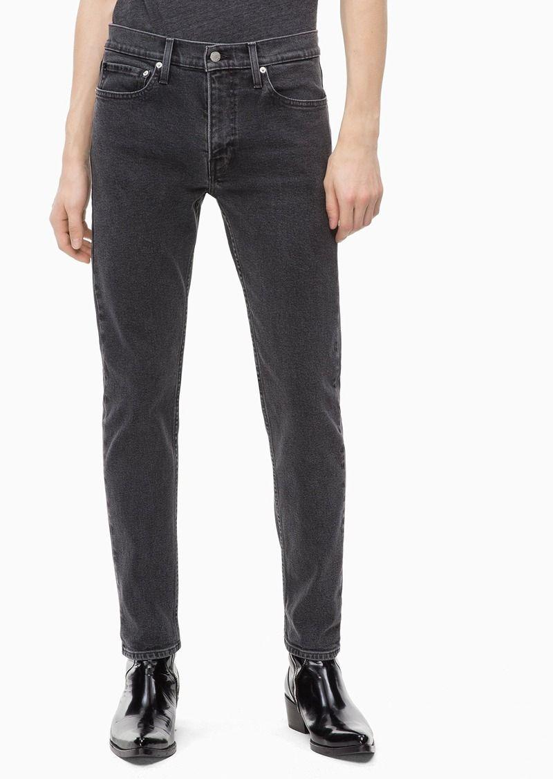 Calvin klein mens slim fit jeans atlanta grey with