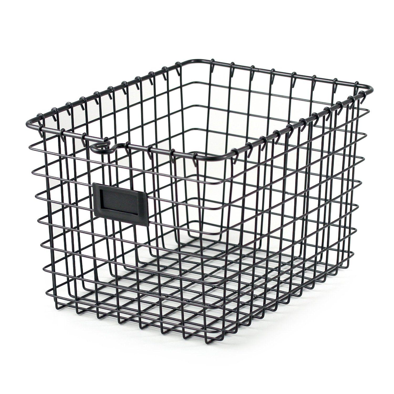 DIY Mason Jar Vanity Light | Storage baskets, Wire storage and Wire ...
