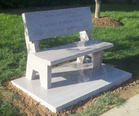 Fantastic Granite Benches Granite Memorial Benches Cemetery Benches Ibusinesslaw Wood Chair Design Ideas Ibusinesslaworg
