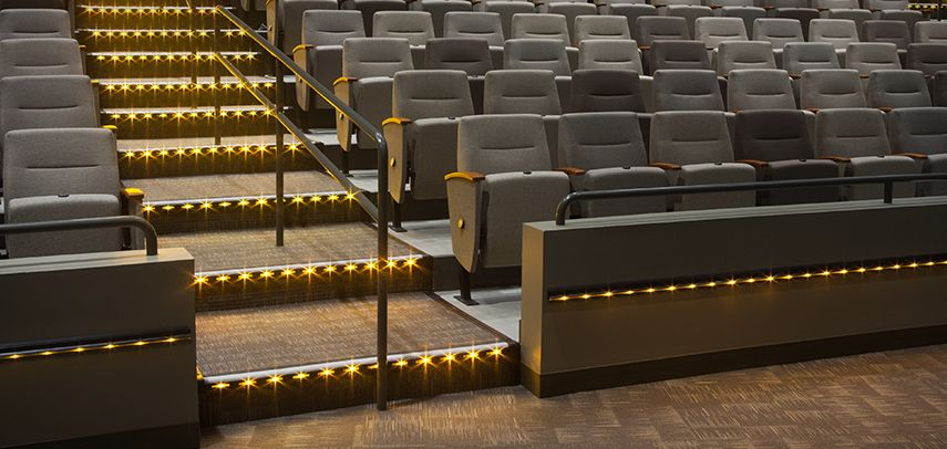 Movie Theater Lighting California Accent Lighting Theatre Lighting Movie Theater Step Lighting
