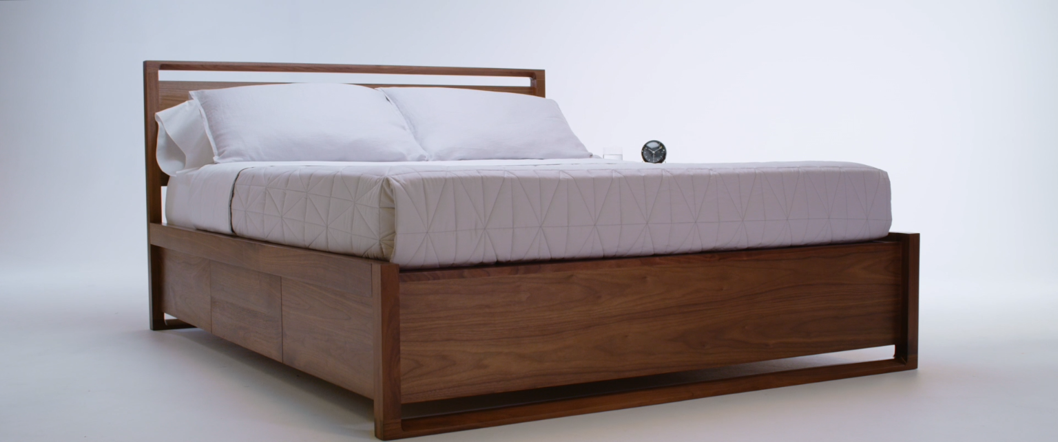 Matera Bed With Storage Video