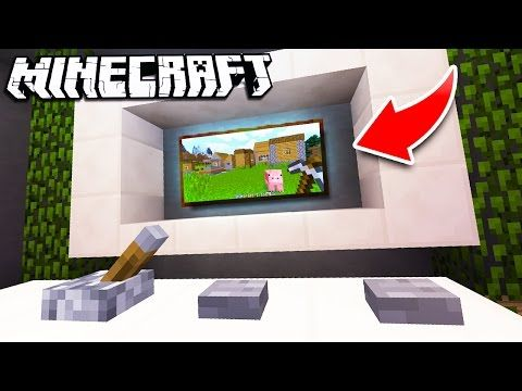 Minecraft How To Make A Working Shower Bathroom Tutorial For