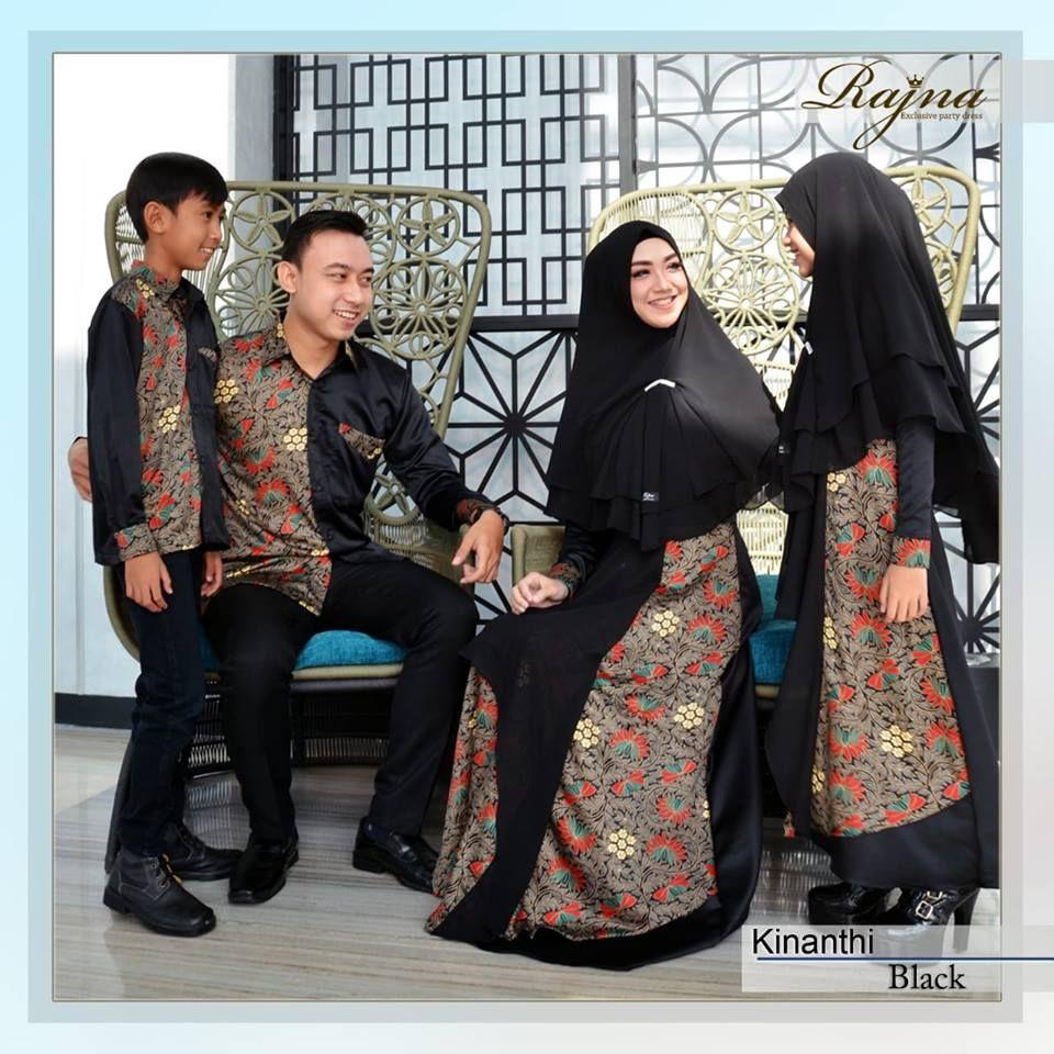 Contoh Desain Baju Batik Modern 12 di 12  Wanita, Gaya model