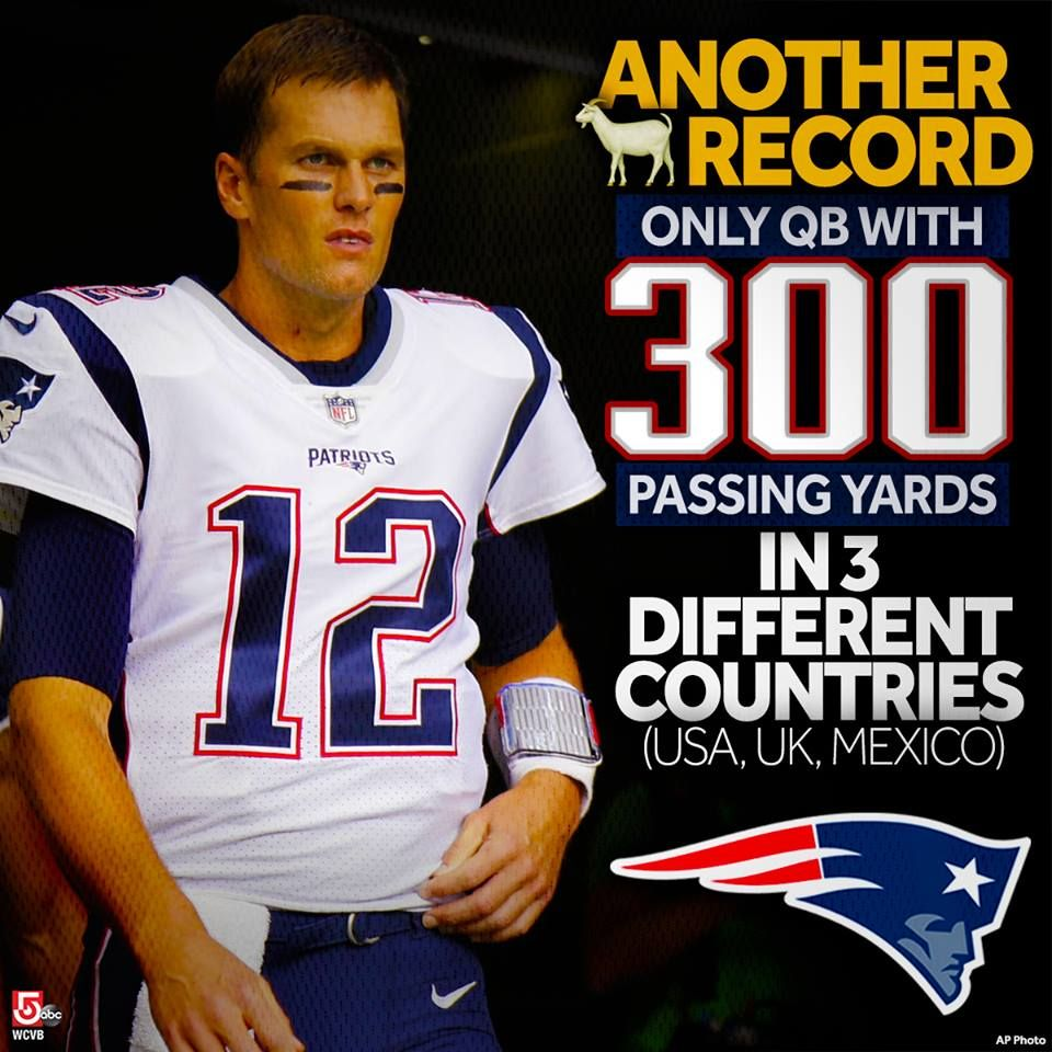 11 19 17 Tom Brady Has Dazzled New England Patriots Fans For Years But He Also Playing Outside The U Patriots New England Patriots New England Patroits