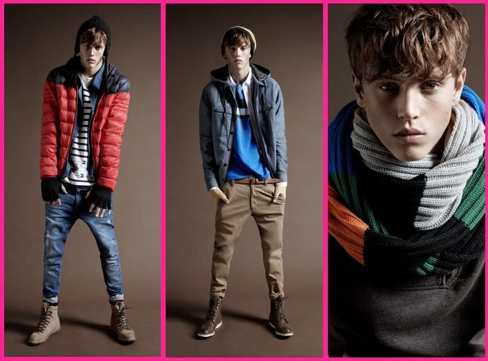 Male teen high fashion