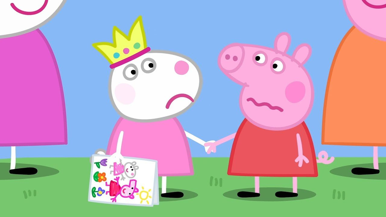 Peppa Pig Full Episodes Suzy Goes Away Cartoons For Children