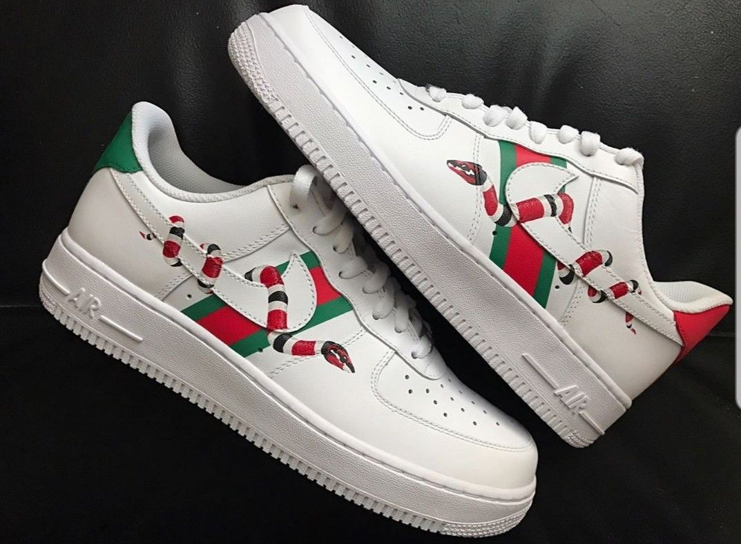 on feet shots of on wholesale buying new Personalised Gucci air force 1   Sneakers fashion, Sneakers ...