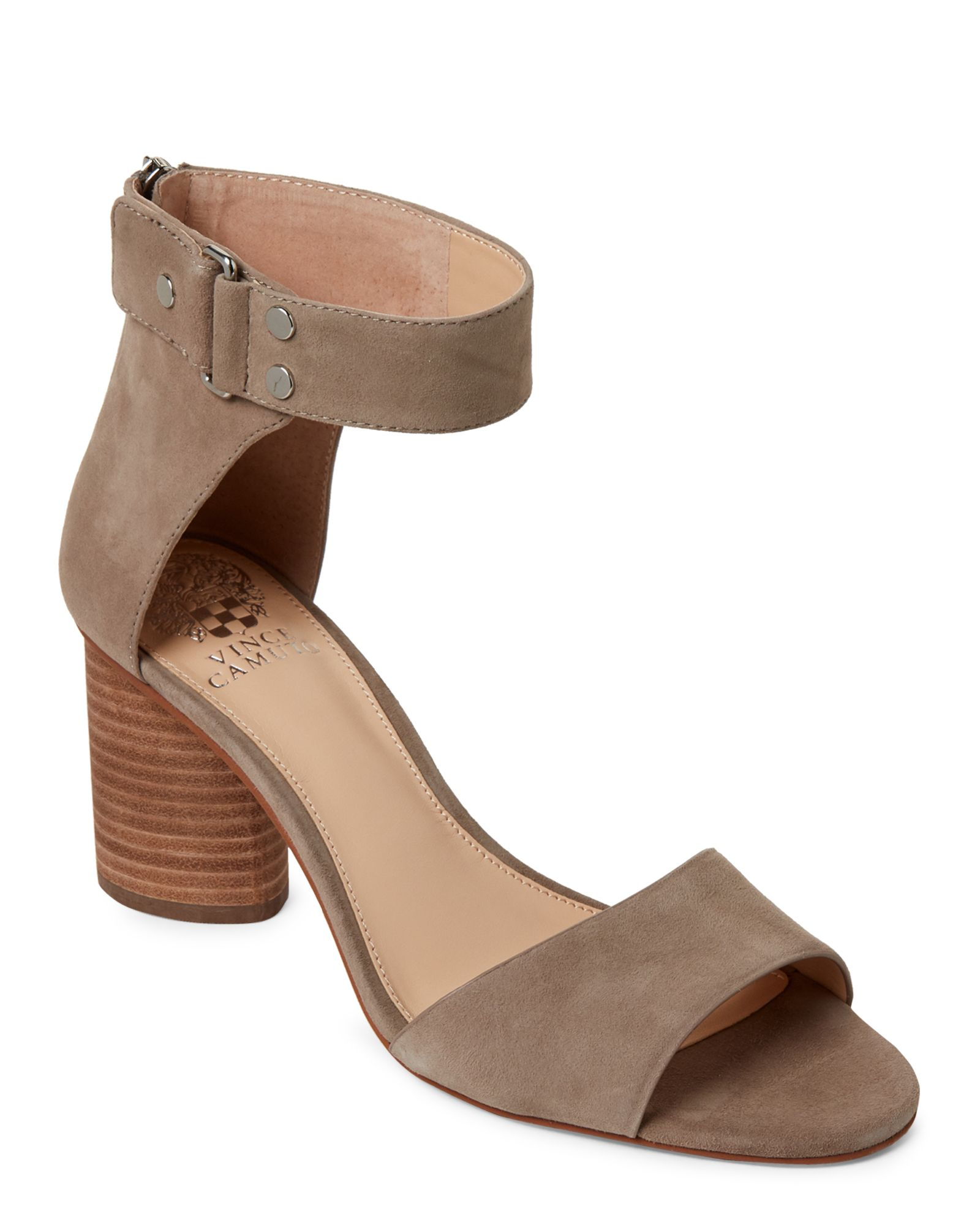 00f20b741 Vince Camuto Smoke Show Jannali Ankle Strap Suede Sandals | *Apparel ...