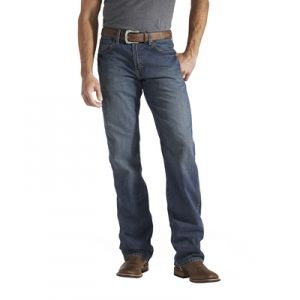 Find the Ariat Men's Heritage Relaxed Fit Jean - Medium Stone by Ariat at Mills Fleet Farm.  Mills has low prices and great selection on all Jeans.