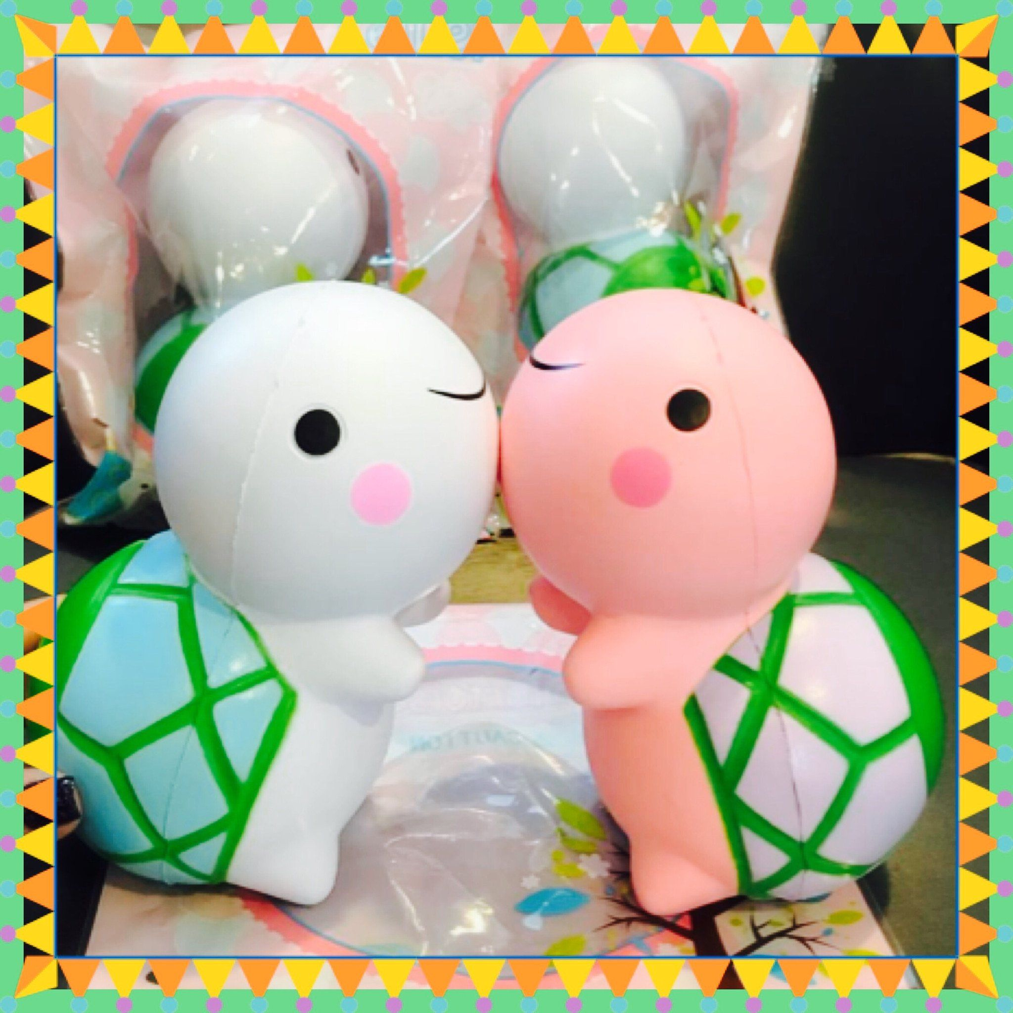 Turtle Squishy Squishies/Squeeze Toys/Slime Pinterest Turtle, Kawaii and Slime