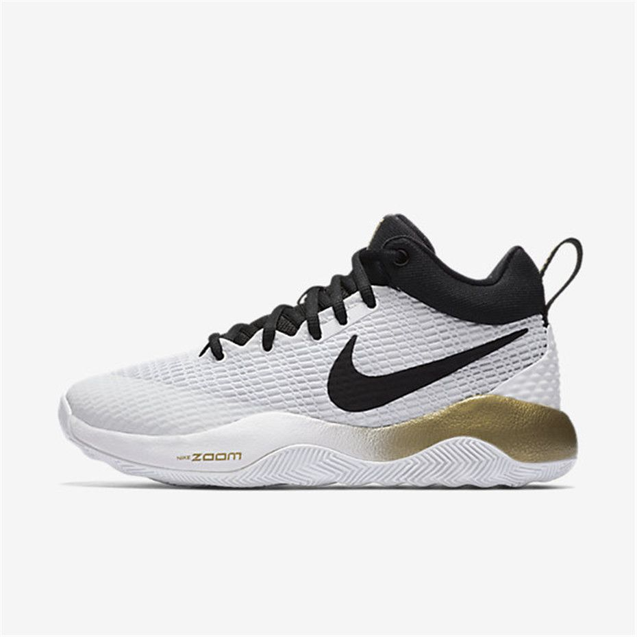 Nike Zoom Rev (White   Metallic Gold   Pure Platinum   Black)  e49faf777