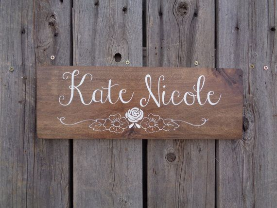 Nursery name sign rustic wood sign baby girl personalized nursery name sign rustic wood sign baby girl personalized baby gift name plaque girl nursery name wall hanging nursery wall negle Image collections