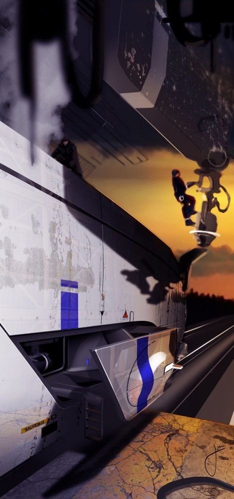 AMERICAN IRON TRAIN by Josson Thomas at Coroflot.com