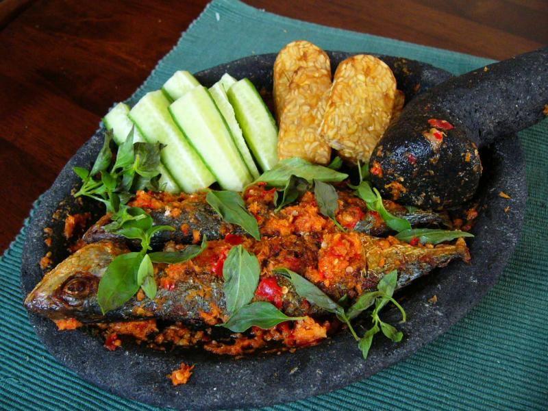 Sambal Cobek Ikan Mas Jawa Barat Resep Masakan Resep Ikan Resep