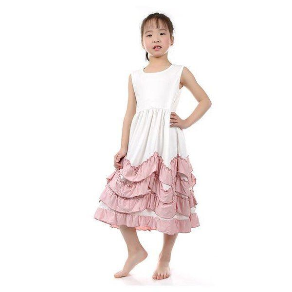 Girl's Princess Ruffle Dress