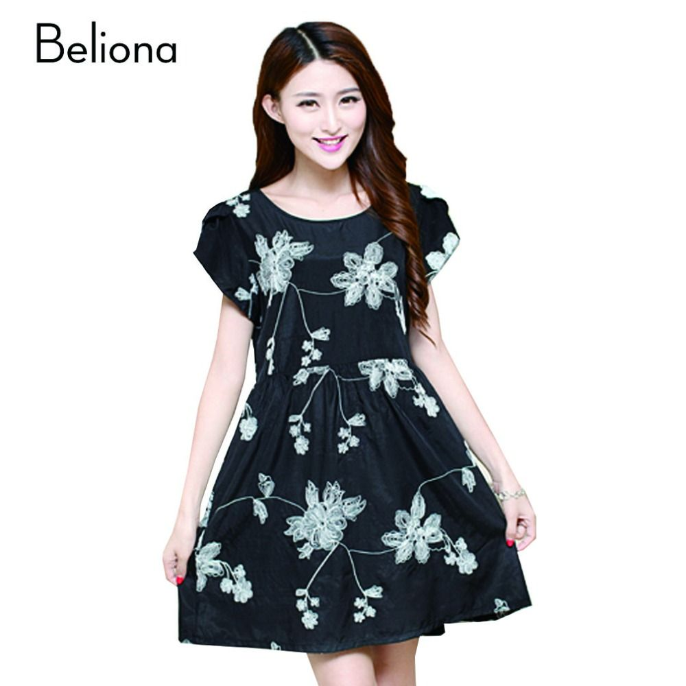 a6c8cb4fe6d8 Summer New Embroidery Maternity-dress Casual Maternity Dresses for Pregnant  Women Plus Size Maternity Clothes Pregnancy Dress  Affiliate
