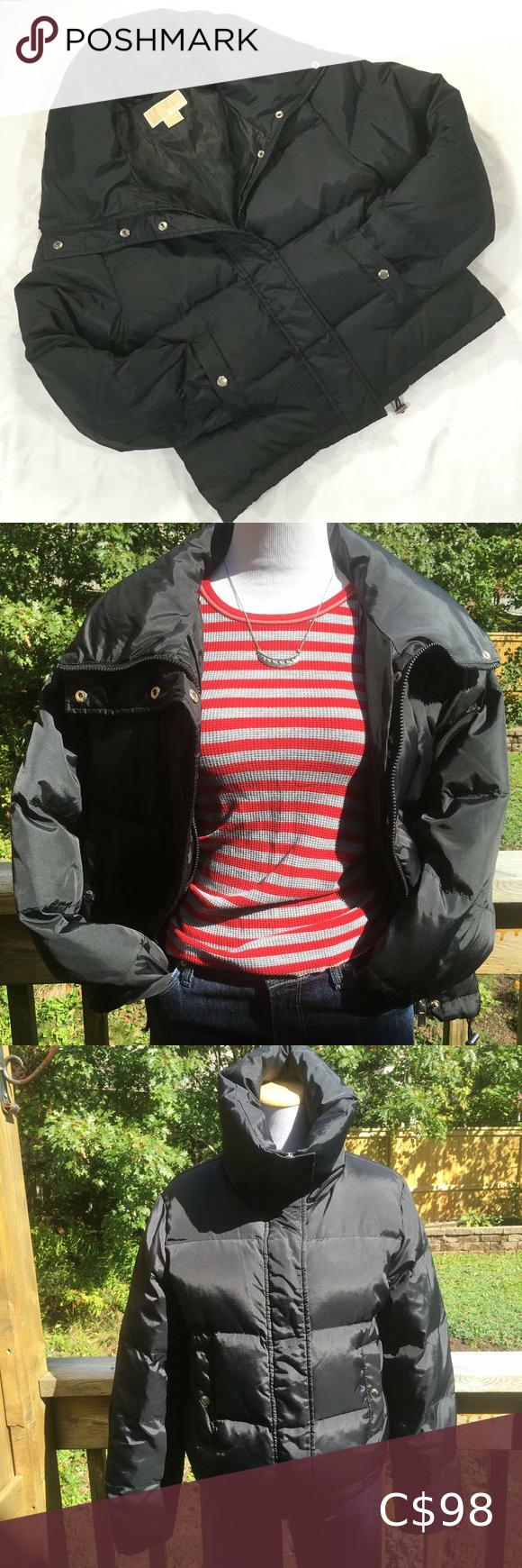 MICHAEL MICHAEL KORS Down Puffer Jacket. Black, M
