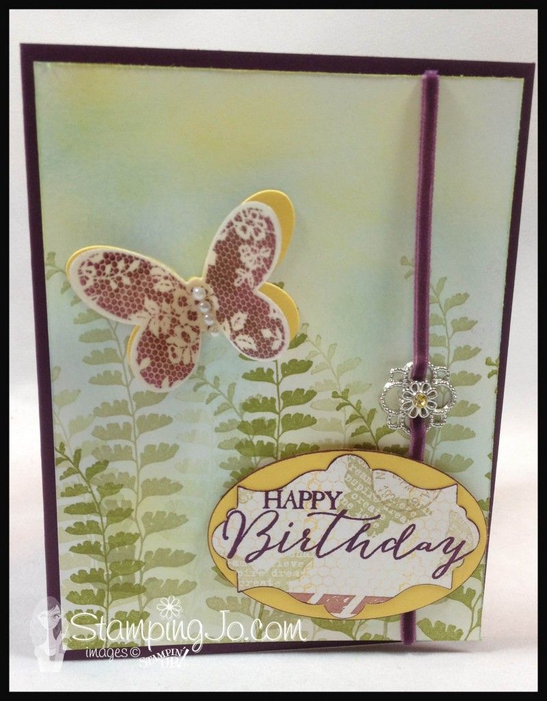 Butterfly basics hand stamped cards butterfly cards cards