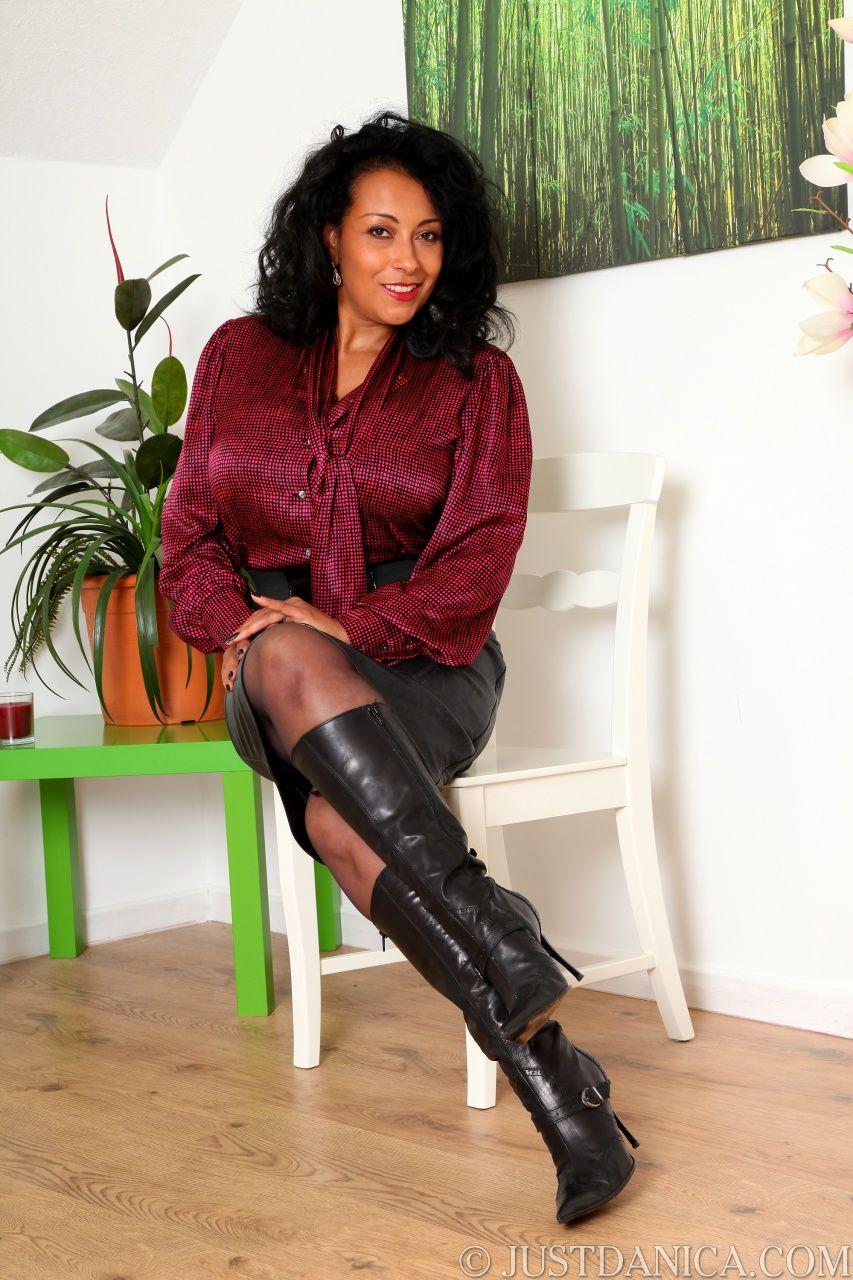 Danica Collins 2 | Beautiful Women | Pinterest | Leather skirts ...